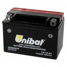 Unibat CBTX9-BS Battery with 3 yr Warranty