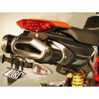 ZARD PENTA Dual Slip-on Exhaust System for Ducati Hypermotard 1100 / Evo & 796