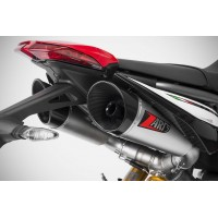 ZARD GT Dual Slip-on Exhaust for Ducati Hypermotard 950 / SP - DAMAGED IN SHIPPING