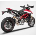 ZARD TOP GUN Dual Slip-on Exhaust for Ducati Hypermotard 950 / SP
