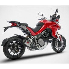 "ZARD ""SHORT"" Slip-on Exhaust system for Ducati Multistrada 1260"