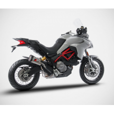 "ZARD ""SHORT"" Slip-on Exhaust system for Ducati Multistrada 950"