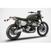 ZARD Dual Slip-on Exhaust for the Triumph Scrambler 1200 (2019+)
