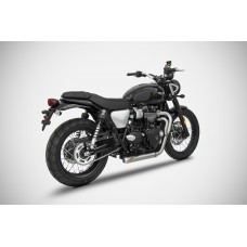 "ZARD ""CROSS"" Exhaust for Triumph Street Scrambler"