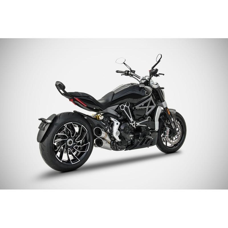 ZARD 2 1 Exhaust For Ducati XDiavel
