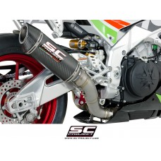 SC-Project Race Oval Exhaust for Aprilia RSV4 and Tuono V4