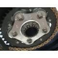 Motocorse Billet Titanium Rear Wheel / Sprocket Nut for Ducati's and MV Agusta's