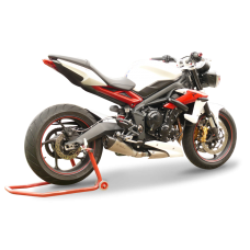 HP CORSE EVOXTREME Low Slip-on System For Triumph Street Triple (2013+)