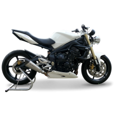 HP CORSE EVOXTREME Low Slip-on System For Triumph Street Triple (2008-12)