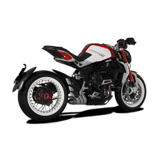 HP CORSE HYDROTRE Low Slip-on System For MV Agusta Dragster 800 / RR / RC / SCR