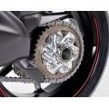Motocorse Large Billet Aluminium Rear Hub Flange (Sprocket Carrier) for Ducati
