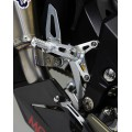 Motocorse Billet Rearsets with Titanium for MV F3  Brutale 675/800  and Dragster 800