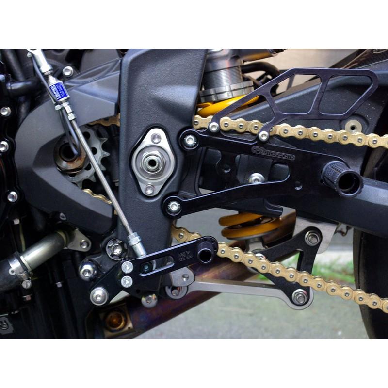 Woodcraft Triumph Daytona 675 13 15 Complete Rearset Kit Gp Shift