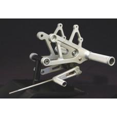 WOODCRAFT Honda CBR600 F4 (99-2000) Complete Rearset Kit W/Shift & Brake Pedals