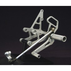 WOODCRAFT Honda CBR600RR (03-06) Rearsets with Shift Pedal