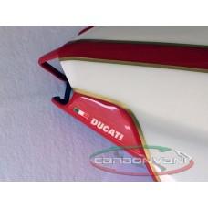 CARBONVANI - DUCATI 1098R & 1198R PAINTED CARBON FIBRE SOLO SEAT ROAD VERSION (2007-13)