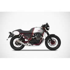 ZARD 2-2 Full Exhaust system for Moto Guzzi V7 II Racer