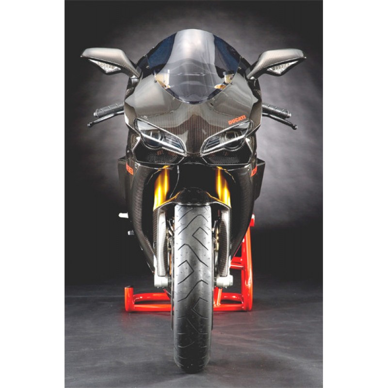 Carbondry Ducati 848 1098 1198 Carbon Fiber Headlight Fairing