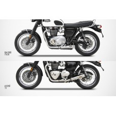 ZARD 'Low' to 'Slim' Conversion Kit for the Bonneville T-120 (2016+)
