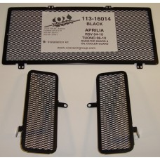 Cox Racing Radiator Guards for the Aprilia RSV Mile  R  Factory (04-10) and Tuono (06-10)