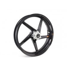 BST Black Diamond 5 Spoke Carbon Fiber Front Wheel for the BMW HP4 and S1000RR w/ premium wheels - 3.5 x 17