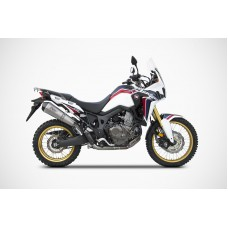 ZARD 2-1 Full Exhaust With Conical Muffler for Honda Africa Twin 1000 (2016+)