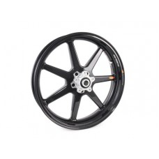 BST BLACK MAMBA 7 Spoke Carbon Fiber Front Wheel for the Ducati Diavel & XDiavel models 3.5 x 17