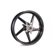 BST Diamond TEK 5 Spoke Carbon Fiber Front Wheel for the Suzuki GSX-R1300 Hayabusa (2013+) - 3.5 x 17