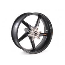 BST Diamond TEK 5 Spoke Carbon Fiber Rear Wheel for the Suzuki GSX-R1300 Hayabusa (2013+) - R Series - 6.25 x 17