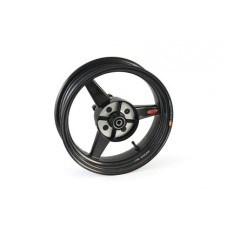 BST Diamond TEK 3 Spoke Carbon Fiber Front / Rear Wheel for the Kawasaki Z125 Pro - 3.5 x 12