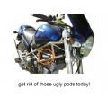 TPO Carburetor Vent-Pod Removal Kit for Older Ducati Models