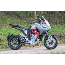 FM Projects Slip-on Exhaust for MV Agusta Turismo Veloce 800 / Lusso (with Center stand)