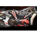 Ducabike Billet Horizontal Belt Cover Air intake for the Ducati XDiavel