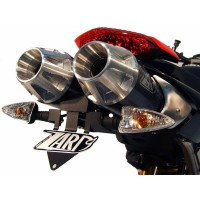 ZARD Top Gun Dual Slip-on Exhaust System for Ducati Hypermotard 1100 / Evo & 796