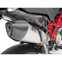 ZARD Scudo 2>1 Full Exhaust for Ducati Hypermotard 1100 / EVO / 796