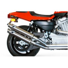 Termignoni Exhaust for Harley Davidson XR1200R 2>2 Stainless Steel