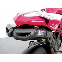 Zard Penta EVO Full 2-1-2 Exhaust for Ducati 1198 S / R & 1098R
