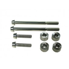 TPO Titanium Clutch Cover Spacer Kit For Dry Clutches