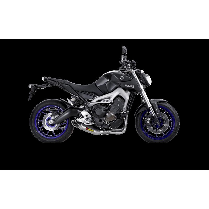 Akrapovic Racing Exhaust System Yamaha FZ 09 FJ XSR900