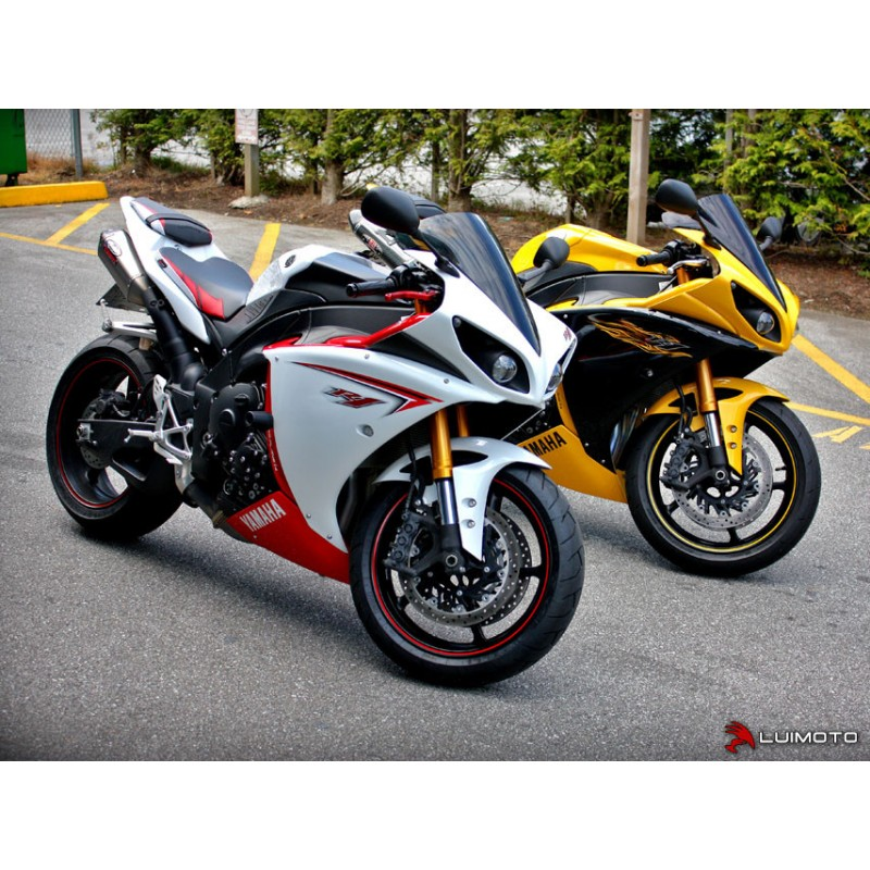 Superb Luimoto Team Yamaha Passenger Seat Cover For The Yamaha R1 Gamerscity Chair Design For Home Gamerscityorg