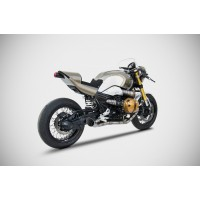 ZARD NEW Full Titanium 2-2 Racing Exhaust for the BMW R NineT