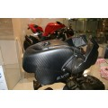 EVR Carbon Fiber Airbox and Ducts for the Ducati Streetfighter