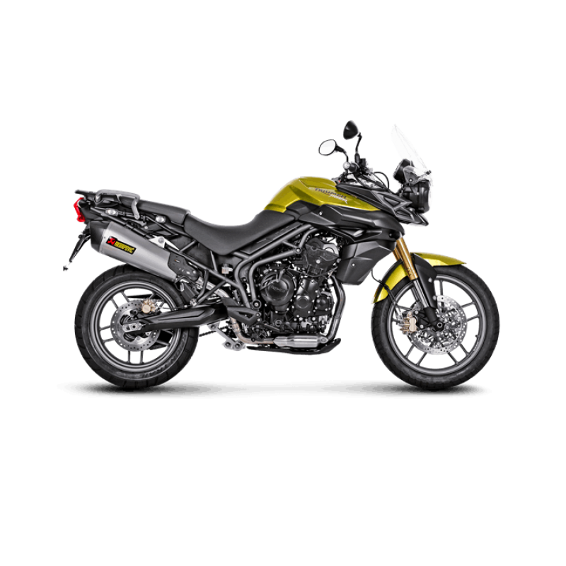 Akrapovic Slip-On Exhaust Triumph Tiger 800 / XC / XCX / XR / XRX