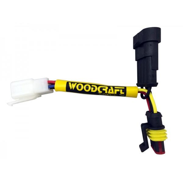 WOODCRAFT Aprilia RSV4 (08-15) / Tuono V4 / 1100 Keyswitch Elimination Harness Assembly