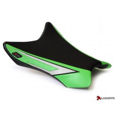 LUIMOTO (Anniversary Edition) Rider Seat Covers for the KAWASAKI ZX-10R (11-15)