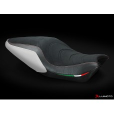 LUIMOTO (Apex Edition)  Rider Seat Cover for the  DUCATI MONSTER 1200/821