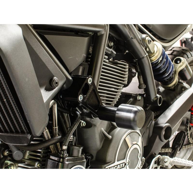 Woodcraft Frame Slider for Ducati Scrambler (Includes 50-1399 Pucks)