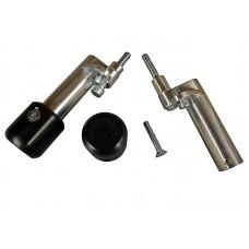WOODCRAFT Aprilia RSV / RSVR  Tuono (06-09) Frame Slider Base Kit (pucks sold separately)