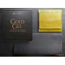 LUIMOTO 'GOLD GEL' GEL PAD - RIDER + PASSENGER KIT (9 x 9.25 & 7 x 9.25 inch)