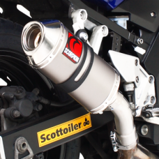 SCORPION CARBINE SLIP ON EXHAUST - SUZUKI SV 650 (2004-09)